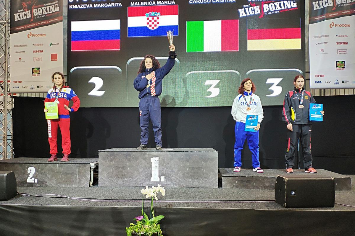 Knyazeva Margarita silver medalist European Championship 2018